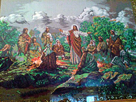 Иисус и 12 апостолов
