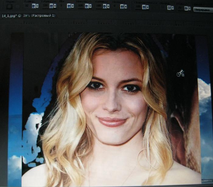 Как изменить  фон на фото
