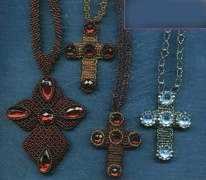 Медальон Крестик и кулон Крестик