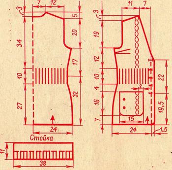 Вязание жилетов спицами
