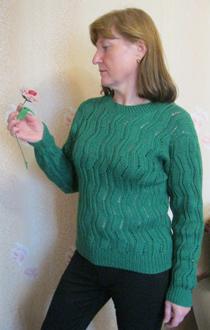 Фото модели пуловера