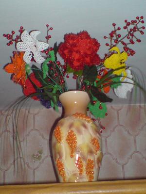 Цветы Лилии и Колокольчик