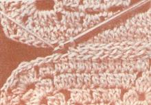 Вязание  крючком  узоры