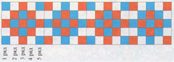 Вышивка   по   сетке