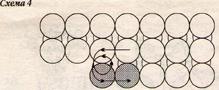 Схема плетения кончика 1