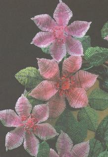 Техника плетения цветов на проволоке