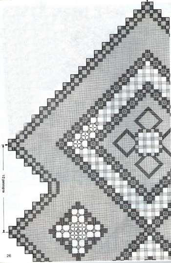 Салфетка голубая квадратная