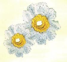 Венки из цветов крючком