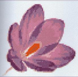 Цветы вышивка крестом