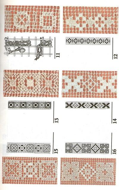 Вышивка по сетке (филейная вышивка)