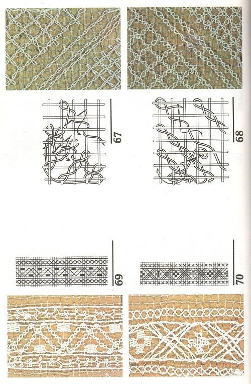 Вышивание узоров с 55 по 88